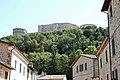Castello di San Leo, visto dal paese - panoramio.jpg