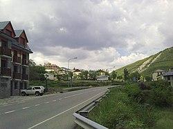 Castiello de Jaca, la route principale.jpg