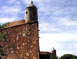 El Castillo de Santa Rosa.