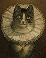 Cat with collar and bell detail, The Widow (Boston Public Library) (cropped).jpg
