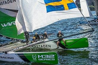 M32 (catamaran) - M32 in Scandinavian Series (2016)