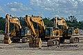 Caterpillar Hydraulic Excavator Crawler 390F-347D-390D Family Davie Florida JTPI 5200 (45651934005).jpg