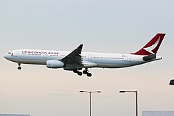 Airbus A330-300 der Cathay Dragon