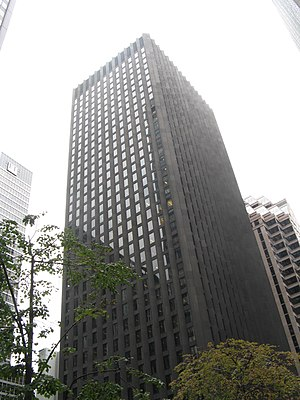 CBS Corporation - CBS Corporation's headquarters in the CBS Building, New York City.