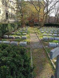 Fordham University Cemetery historic cemetery at Forham University