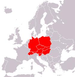 Europa Centrale Cartina.Europa Centrale Wikivoyage Guida Turistica Di Viaggio