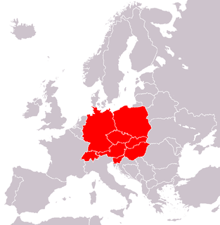 Central Europe region of Europe