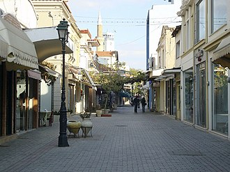 Komotini - View of a central street.
