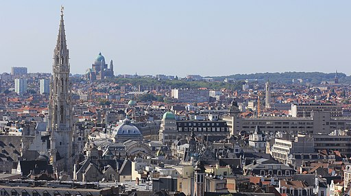 Centre Brussels and Basilica