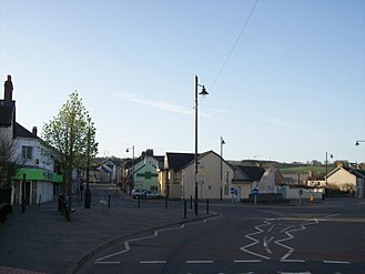 Nelson, Caerphilly - Image: Centre of Nelson, Caerphilly from Commercial Street