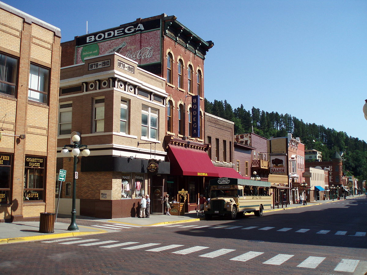 Deadwood Dakota Du Sud Wikip 233 Dia