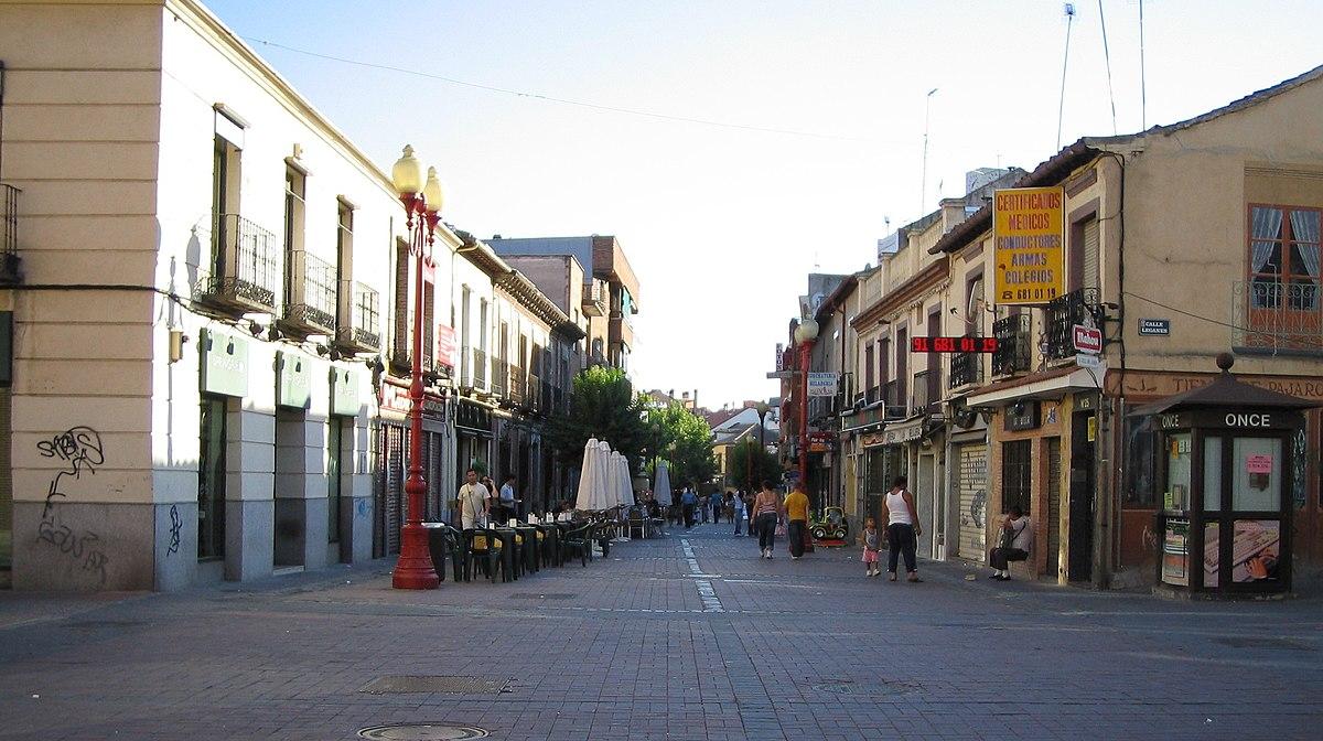 Avenida De Las Ciudades Getafe Free Getafe Hacia El Puente El  # Muebles Getafe Avenida De Las Ciudades