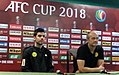 Ceres Negros Maranon Vidakovic AFC Cup 2018 post match vs Yangon.jpg