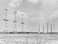 Chain Home radar installation at Poling, Sussex, 1945. CH15173.jpg