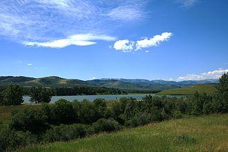 Chain Lakes Provincial Park - Image: Chain Lakes Provincial Park