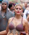Chain mail models in the Grand Parade (8212827494).jpg