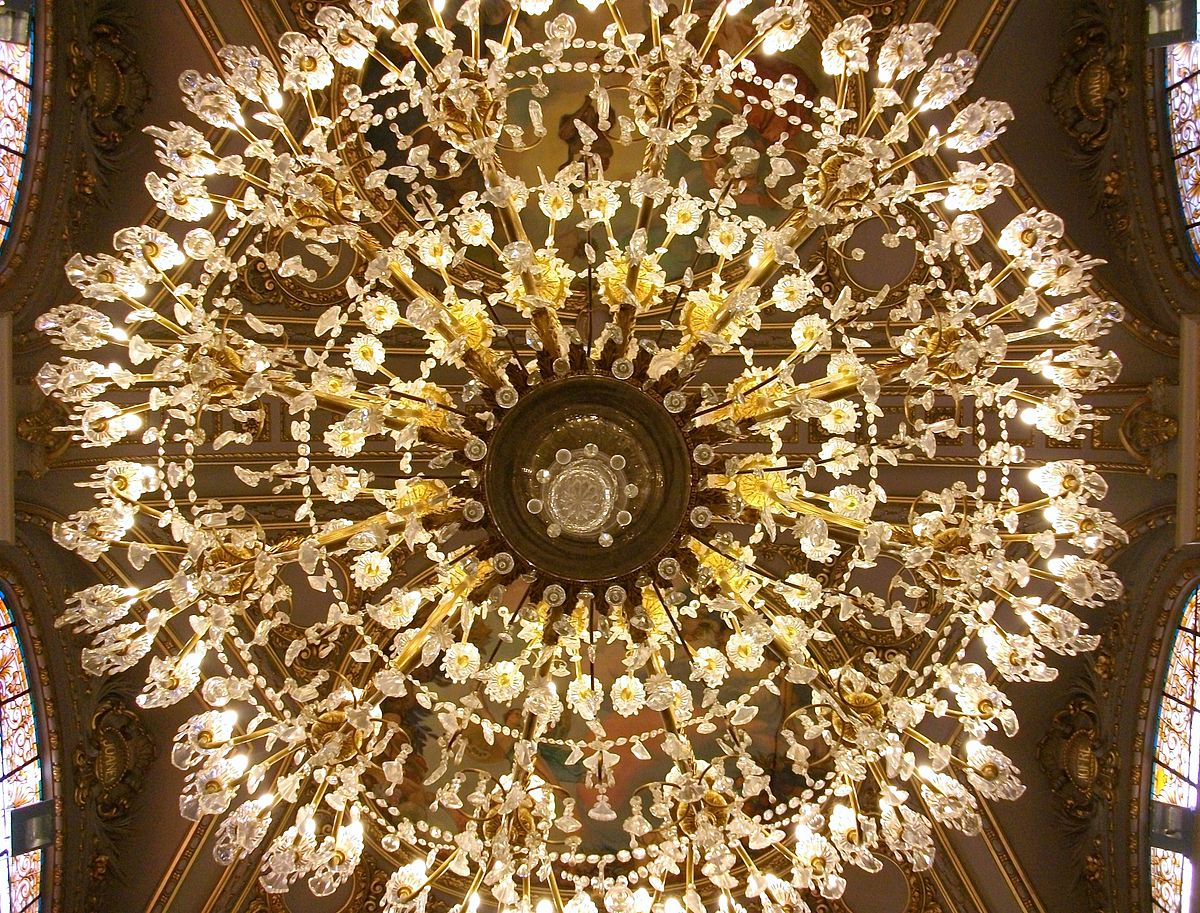 Chandelier wikipedia arubaitofo Image collections