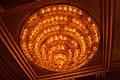 Chandelier - Durga Puja Pandal Interior - Ekdalia Evergreen - Ekdalia Road - Kolkata 2014-10-02 8895.JPG