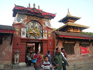 Chandeshwari - Image: Chandeshwori Temple, Banepa, Nepal