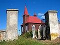 Chapel near the Church of the Assumption of the Blessed Virgin Mary in Novy Dvor - panoramio (2).jpg