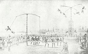 Gajan (festival) - Charak festival in Kolkata in 1849