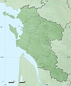 Charente-Maritime department relief location map.jpg