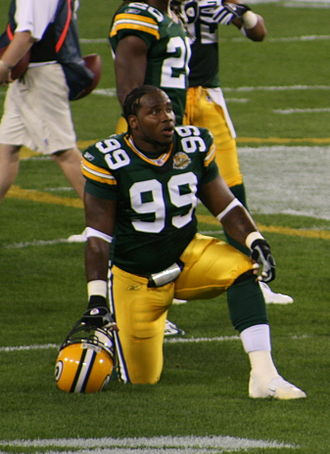 Corey Williams (American football) - Corey Williams with the Packers in 2007