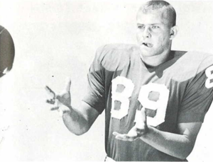 Charles Casey (American football) - Casey in 1965 Seminole yearbook