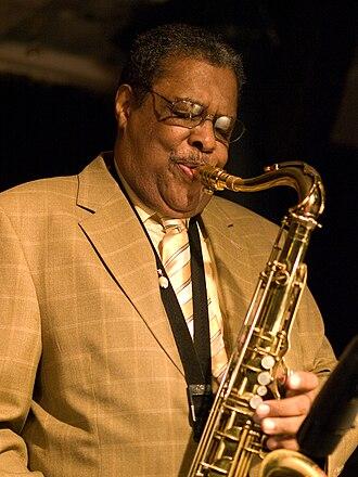 Charles Davis (saxophonist) - Davis in Munich, October 2009