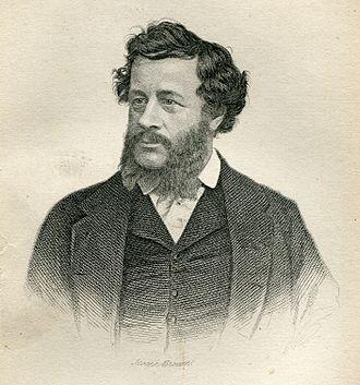 Charles Elmé Francatelli - Portrait of Charles Elmé Francatelli by Joseph Brown, 1861, Frontispiece to The Cook's Guide