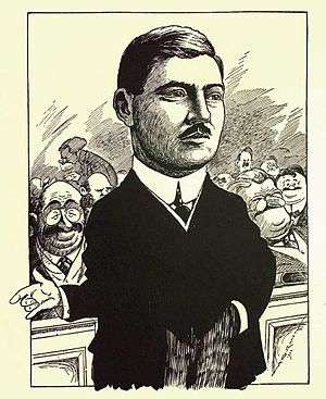Charles Gavan Power - Charles Gavan Power from Canadian men of affairs in cartoon (1922)