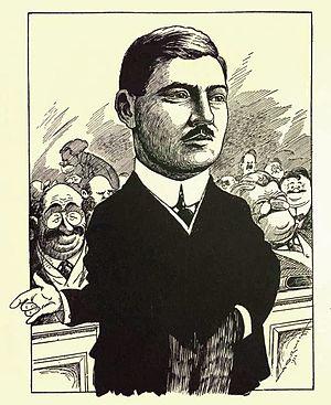 Charles Gavan Power - Charles Gavan Power from Canadian men of affairs in cartoon (1922)
