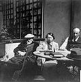 Charles M. Wilson with father and sister, 1920s Wellcome L0021308.jpg