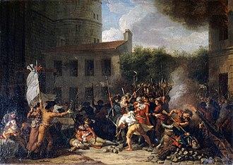 Charles Thévenin - Image: Charles Thévenin La prise de la Bastille