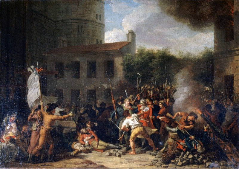 Charles Thévenin - La prise de la Bastille