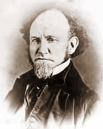 Charles Whittlesey (geologist) - Image: Charles Whittlesey by E Decker, 1858 crop