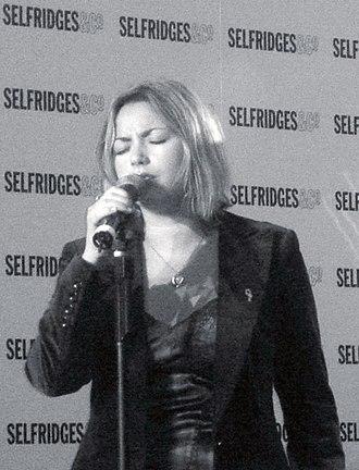 Charlotte Church - Charlotte Church performing at Selfridges, 2005