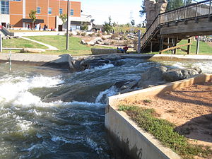 U.S. National Whitewater Center - Image: Charlotte Whitewater 03