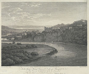Chepstow: To Henry Somerset Duke of Beaufort by William Byrne