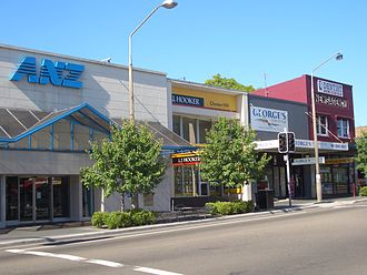 Chester Hill - Waldron Road shops