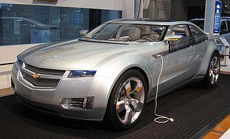 Chevrolet Volt на автошоу в Вашингтоне