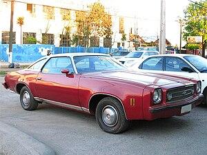 Mid-size car - 1973 Chevrolet Chevelle Laguna Coupe