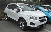 Px Chevrolet Trax China