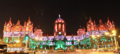 Chhatrapati Shivaji Terminus (formerly Victoria Terminus) - Lit up on Republic Day 2015 - Panorama.png