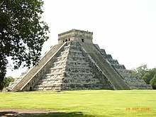 El Castillo nella città di Chichén Itzá (città maya)