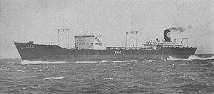 Yamashio Maru-class escort carrier - Image: Chigusa Maru