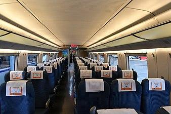 China Railways CRH3C Second Class Coach 20171003