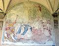 Chiostro grande di smn, lato est 12 mauro soderini, s.tommso d'aquino presenta l'uffizio del corpus d.ni a Urbano IV, 1750 ca..JPG