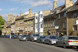 De High Street van Chipping Campden