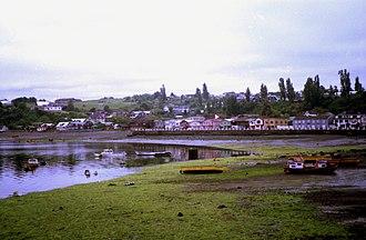 Chonchi - General view of Chonchi